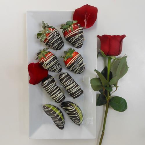 8 Fruits-Choco et La Rose