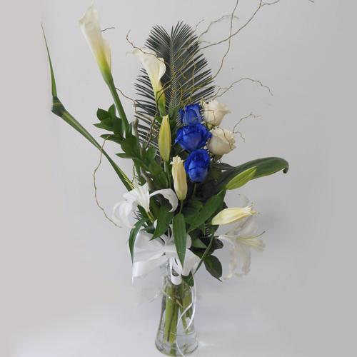 Blanc & Bleu & Vase