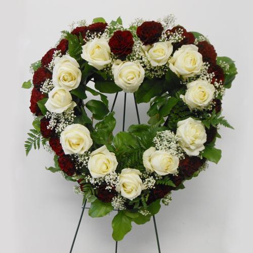 Coeur Blanc&Rouge