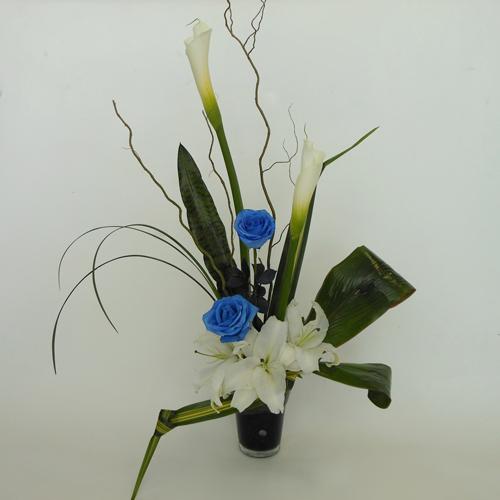 Zen Bleu et Blanc